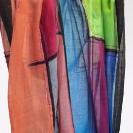 Sciarpa fantasia multicolore