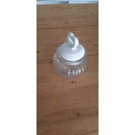 vasetto in vetro bombati con chiusura ermetica