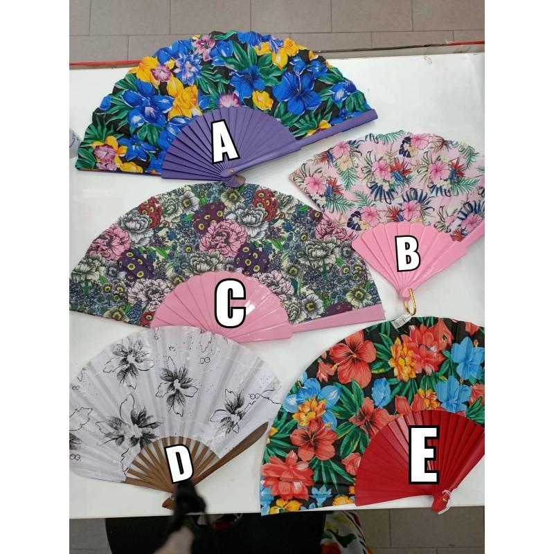 Ventagli colorati floreali