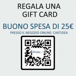 Gift Card 25 - Cartidea