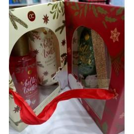 """Confezione regalo apertura a libro """"Happy Winter"""""""