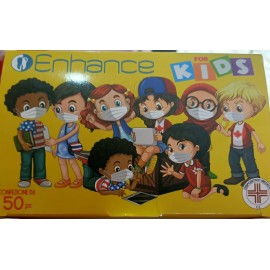 Pacchetti da 10 Mascherine colorate per bambini